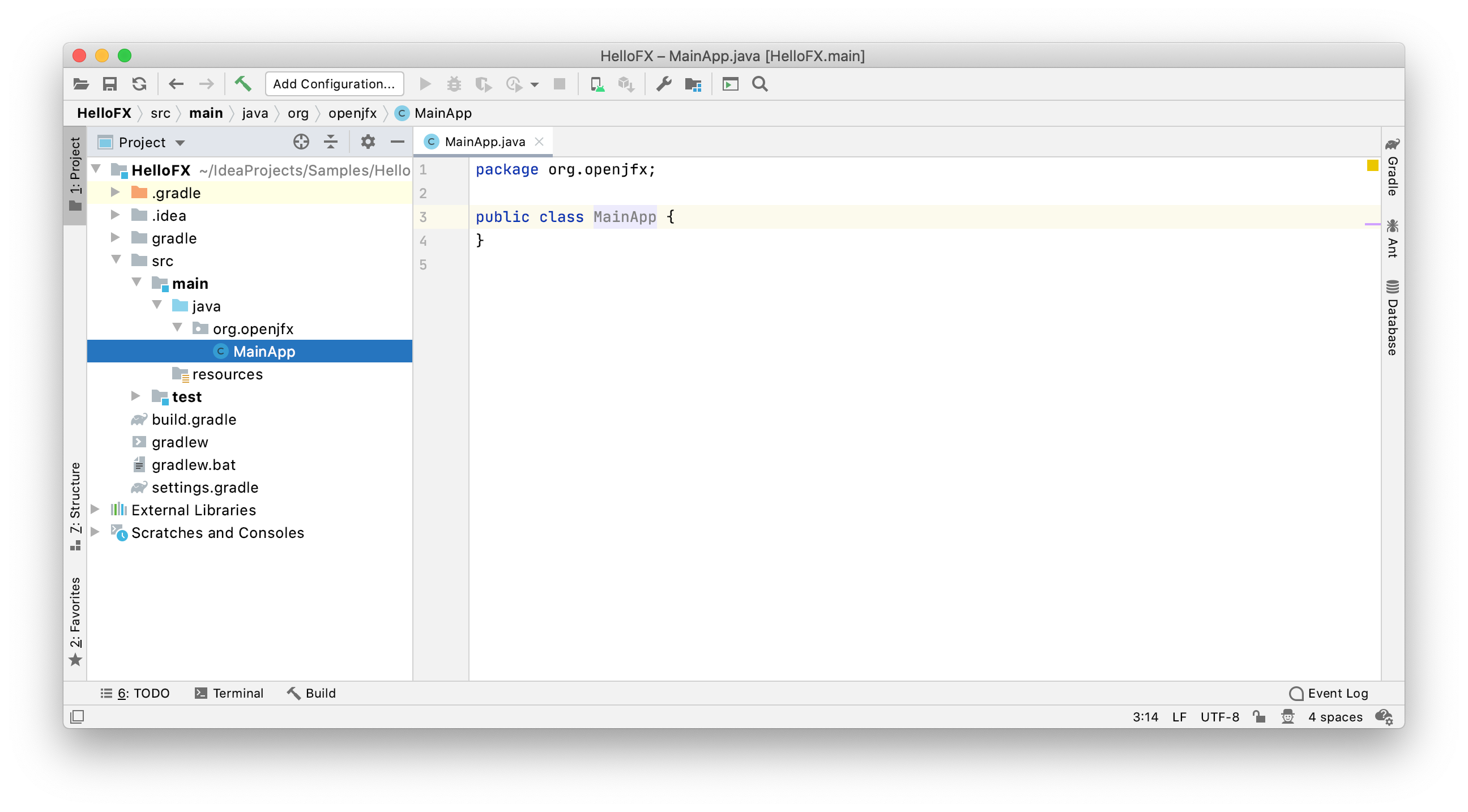 Getting Started with JavaFX 13